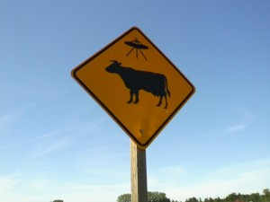 UFO-COW
